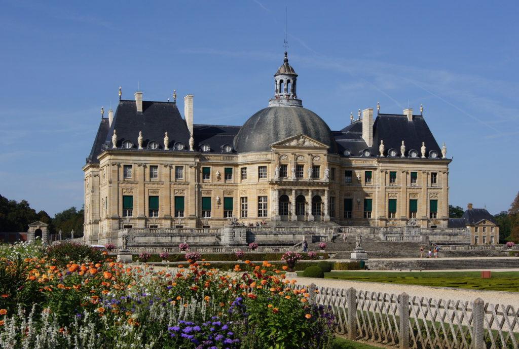 chateau vaux-le-vicomte, wedding venue