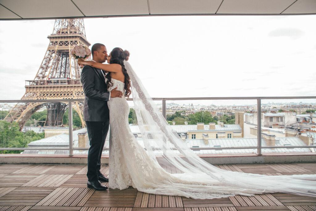 Tour Eiffel, wedding in Paris
