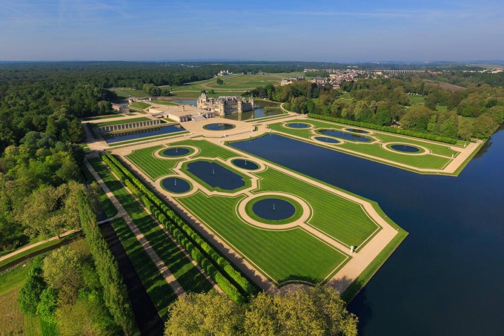 Château de Chantilly, garden