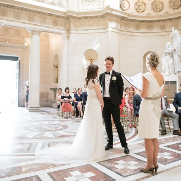 wedding in church paris